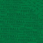 Reminisce - Football Collection - 12 x 12 Double Sided Paper - Football
