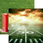 Reminisce - Football 2 Collection - 12 x 12 Double Sided Paper - Gridiron