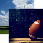 Reminisce - Football 2 Collection - 12 x 12 Double Sided Paper - Pigskin