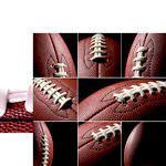 Reminisce - Football 2 Collection - 12 x 12 Double Sided Paper - Footballs