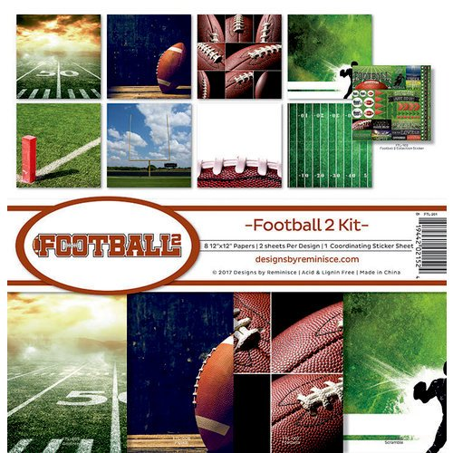 Reminisce - Football 2 Collection - 12 x 12 Collection Kit