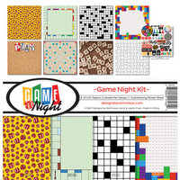 Reminisce - Game Night Collection - 12 x 12 Collection Kit