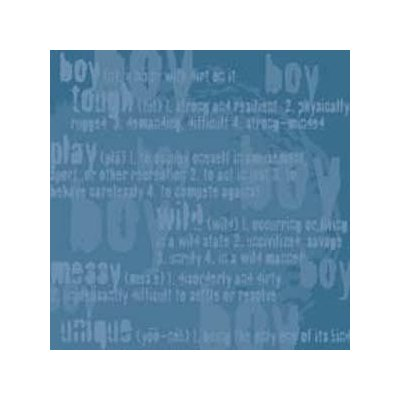 Reminisce - Genuine Boy Collection - Patterned Paper - Boy Defined Blue
