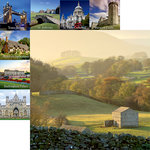 Reminisce - Great Britain Collection - 12 x 12 Double Sided Paper - English Countryside