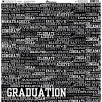Reminisce - Graduation Celebration Collection - 12 x 12 Double Sided Paper - I Made It