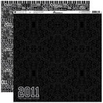 Reminisce - Graduation Celebration Collection - 12 x 12 Double Sided Paper - 2011