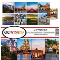 Ella and Viv Paper Company - Germany Collection - 12 x 12 Collection Kit