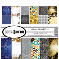 Reminisce - Gear Head Collection - 12 x 12 Collection Kit