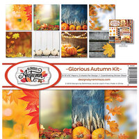 Ella and Viv Paper Company - Glorious Autumn Collection - 12 x 12 Collection Kit