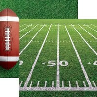 Reminisce - Game Day Football Collection - 12 x 12 Double Sided Paper - Gridiron