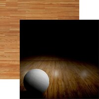 Reminisce - Game Day Volleyball Collection - 12 x 12 Double Sided Paper - Volleyball 1