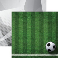 Reminisce - 12 x 12 Double Sided Paper - Soccer 2