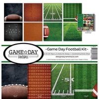 Reminisce - Game Day Football Collection - 12 x 12 Collection Kit