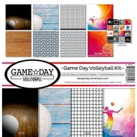 Reminisce - Game Day Volleyball Collection - 12 x 12 Collection Kit
