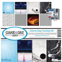 Reminisce - Game Day Hockey Collection - 12 x 12 Collection Pack