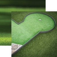 Reminisce - Golf Collection - 12 x 12 Double Sided Paper - Mini-Golf