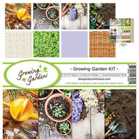Reminisce - Growing Garden Collection - 12 x 12 Collection Kit