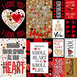 Reminisce - Hashtag Graffitiheart Collection - 12 x 12 Cardstock Stickers