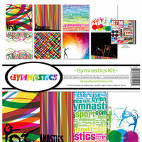 Reminisce - Gymnastics Collection - 12 x 12 Collection Kit