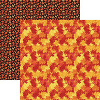 Reminisce - 12 x 12 Double Sided Paper - Autumn Leaves