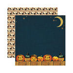 Reminisce - Hallowe'en Collection - 12 x 12 Double Sided Paper - Pumpkin Parade