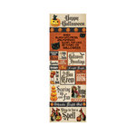 Reminisce - Halloween Collection - Cardstock Stickers - Graphic