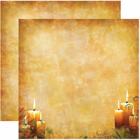 Reminisce - Harvest Collection - 12 x 12 Double Sided Paper - Harvest Glow
