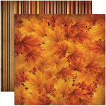 Reminisce - Harvest Collection - 12 x 12 Double Sided Paper - Autumn Harvest