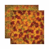 Reminisce - Harvest Collection - 12 x 12 Double Sided Paper - Shades of Autumn