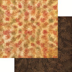 Reminisce - Harvest 2014 Collection - 12 x 12 Double Sided Paper - Autumn Forest