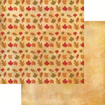Reminisce - Harvest 2014 Collection - 12 x 12 Double Sided Paper - Autumn Leaves