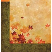 Reminisce - Harvest Collection - 12 x 12 Double Sided Paper - Wind Swept