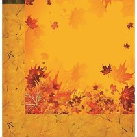 Reminisce - Harvest Collection - 12 x 12 Double Sided Paper - Fall Breeze