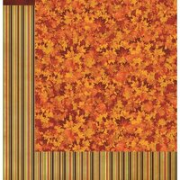 Reminisce - Harvest Collection - 12 x 12 Double Sided Paper - Jump In