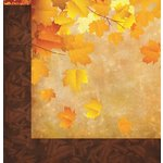 Reminisce - Harvest Collection - 12 x 12 Double Sided Paper - Harvest Time