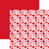 Reminisce - Heart and Soul Collection - 12 x 12 Double Sided Paper - Heart and Soul