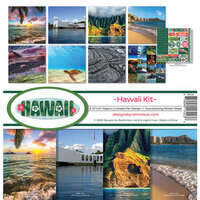 Reminisce - Hawaii Collection - 12 x 12 Collection Kit