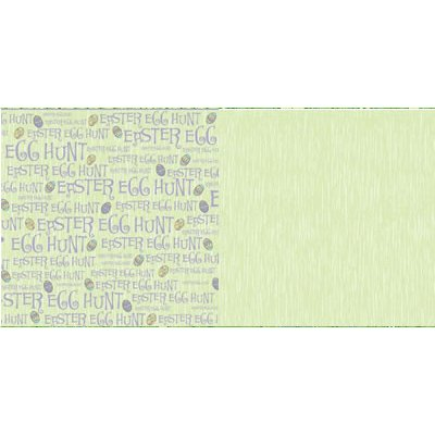 Reminisce - Happy Easter - 12x12 Doublesided Paper - Easter Egg Hunt, CLEARANCE