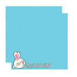 Reminisce - Happy Easter Collection - 12 x 12 Double Sided Shimmer Paper - Easter Egg Hunt