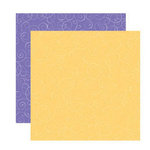 Reminisce - Happy Easter Collection - 12 x 12 Double Sided Shimmer Paper - Easter Swirls