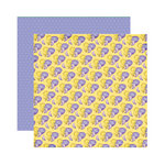 Reminisce - Happy Easter Collection - 12 x 12 Double Sided Paper - Little Chick