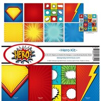 Reminisce - Hero Collection - 12 x 12 Collection Kit