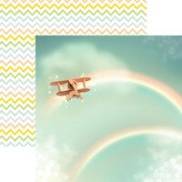 Reminisce - Hello World Collection - 12 x 12 Double Sided Paper - Flying High
