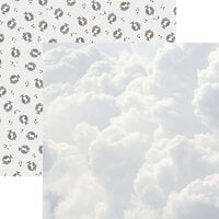 Reminisce - Hello World Collection - 12 x 12 Double Sided Paper - Sky's the Limit