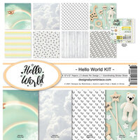 Reminisce - Hello World Collection - 12 x 12 Collection Kit