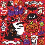 Reminisce - Halloween Party Collection - 12 x 12 Cardstock Stickers - Icons - Red
