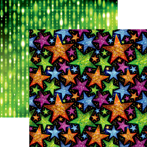 Reminisce - Halloween Party Collection - 12 x 12 Double Sided Paper - Halloween Rock Stars