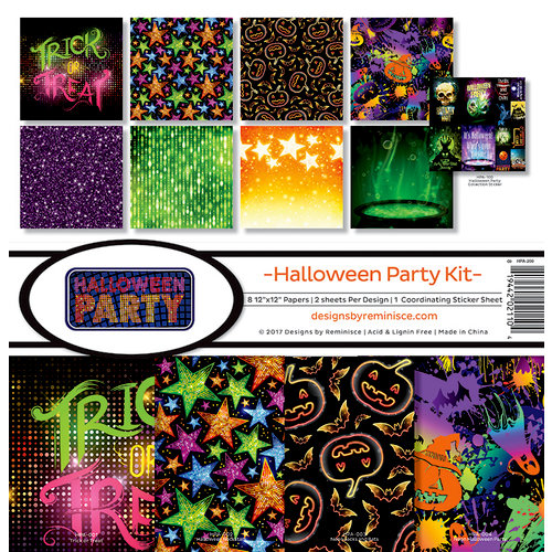 Reminisce - Halloween Party Collection - 12 x 12 Collection Kit