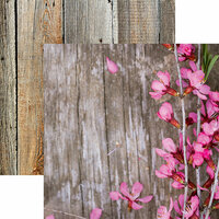 Reminisce - Hello Spring Collection - 12 x 12 Double Sided Paper - Spring Flowers