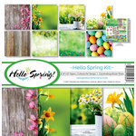 Reminisce - Hello Spring Collection - 12 x 12 Collection Kit
